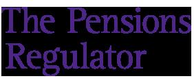 The pensions regulator logo