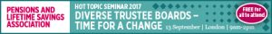 PLSA Hot Topic Seminar: Diverse Trustee Boards - time for a change