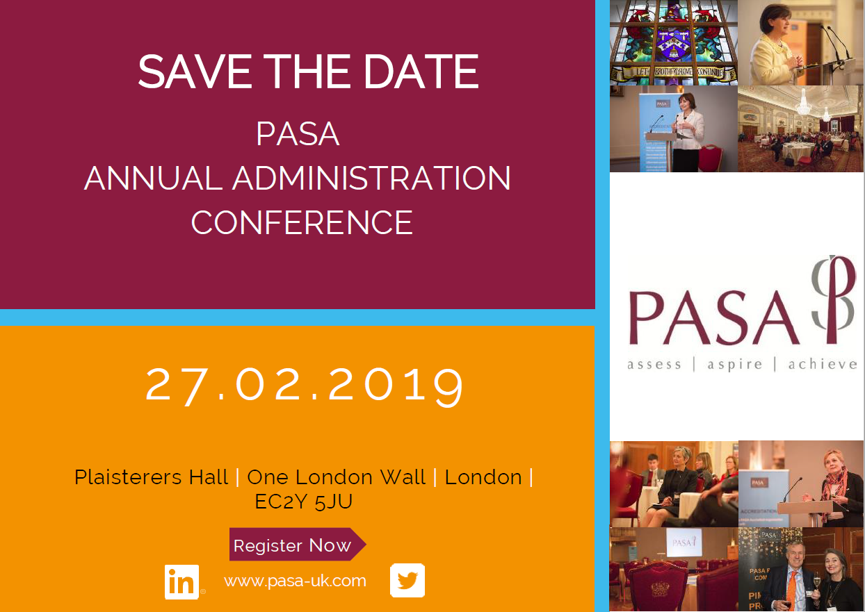 PASA Annual Administration Conference 2019