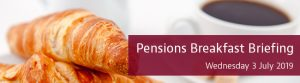 Pensions Summer Breakfast Briefing