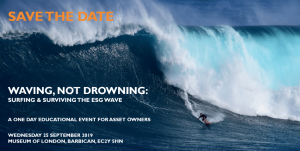 WAVING NOT DROWNING- Surfing and surviving the ESG wave