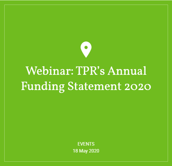Hymans Robertson - Webinar: TPR's Annual Funding Statement 2020