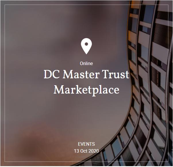 Hymans Robertson - Webinar: DC Master Trust Marketplace