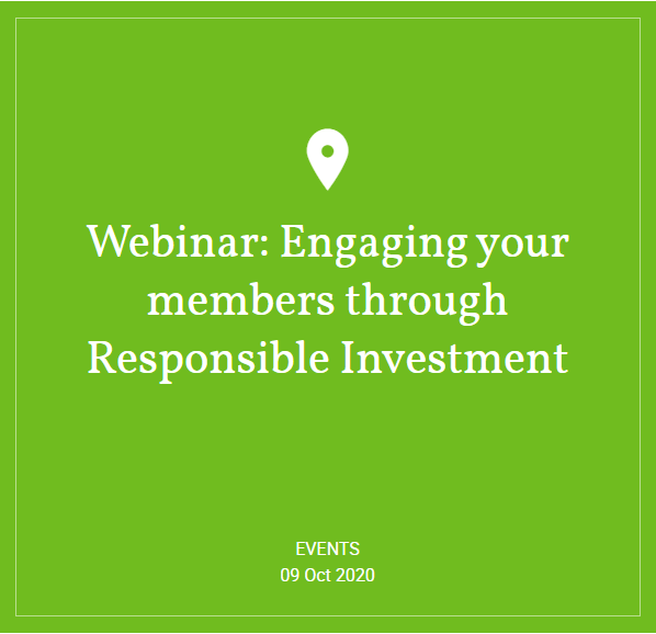 Hymans Robertson - Webinar: Engaging your members through Responsible Investment