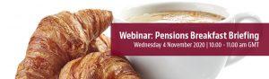 Pensions Breakfast Briefing Webinar