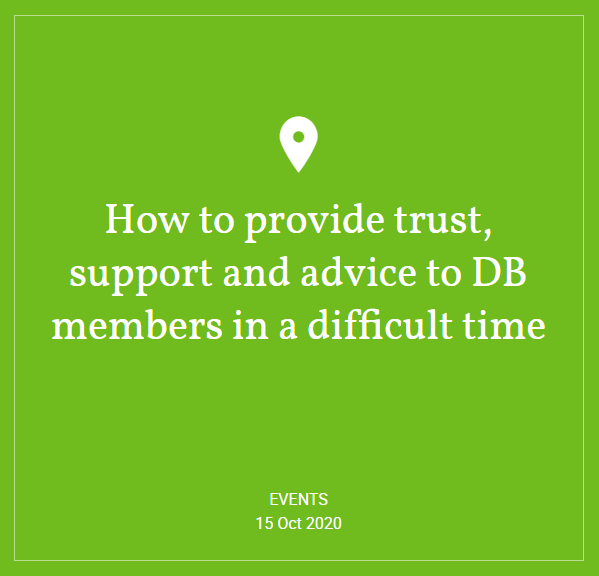 Hymans Robertson: Webinar - How to provide trust, support and advice to DB members in a difficult time