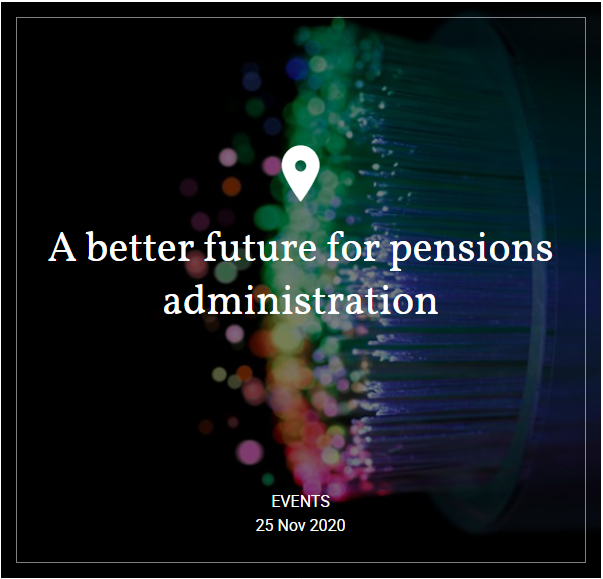 Hymans Robertson - Webinar: A better future for pensions administration