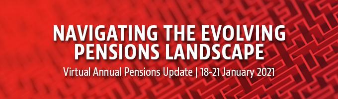 Virtual Annual Pensions Update 2021