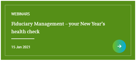 Hymans Robertson - Webinar: Fiduciary Management – your New Year's health check